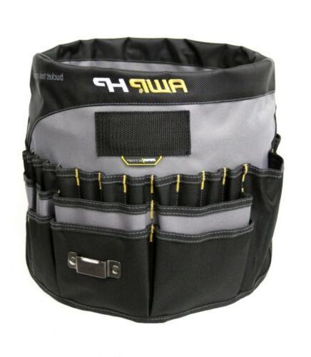AWP 5-Gal Bucket Tool Organizer Bag Professional Grade 51 Po