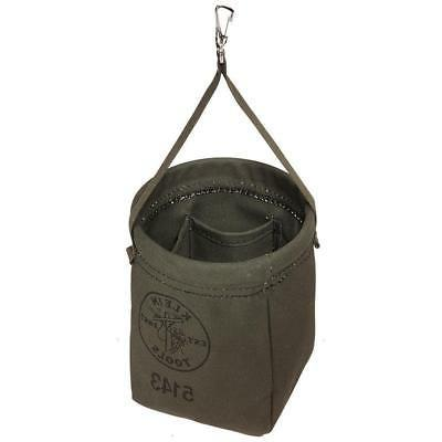 Klein Tools 5143 Canvas Tapered-Bottom Bag