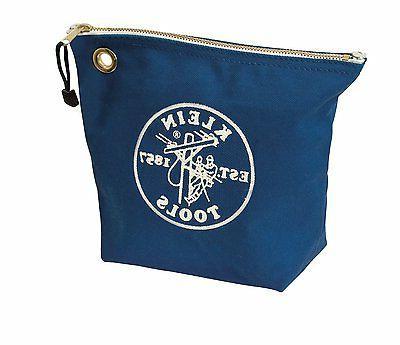 5539blu canvas zipper bag