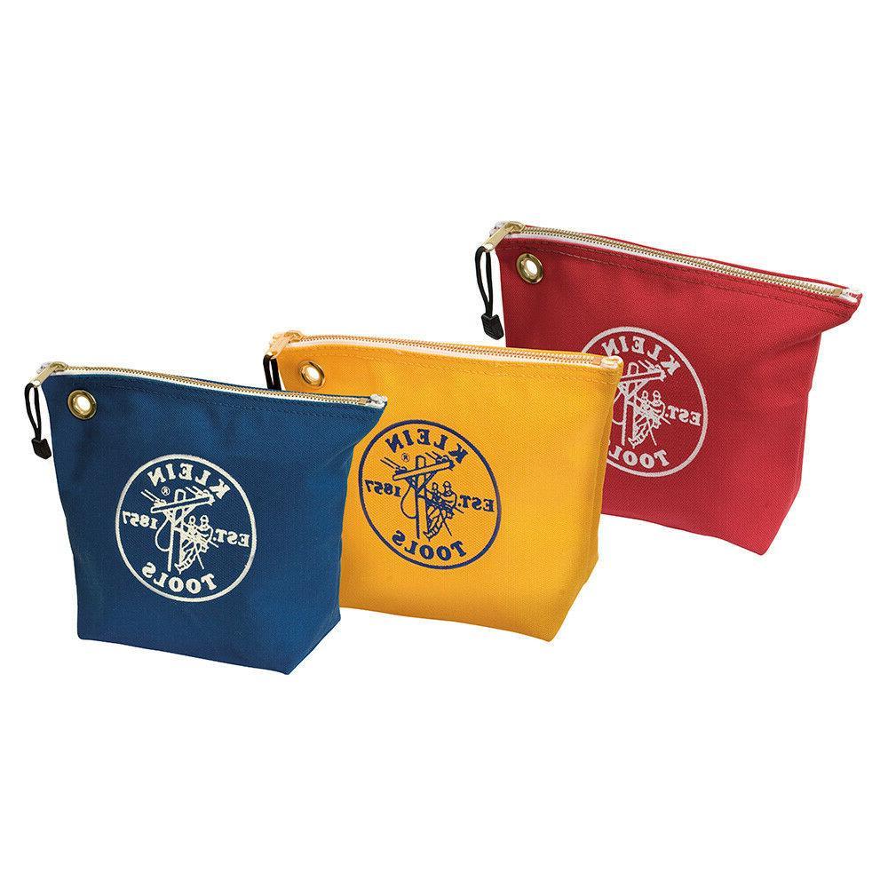 5539cpak assorted canvas zipper bags
