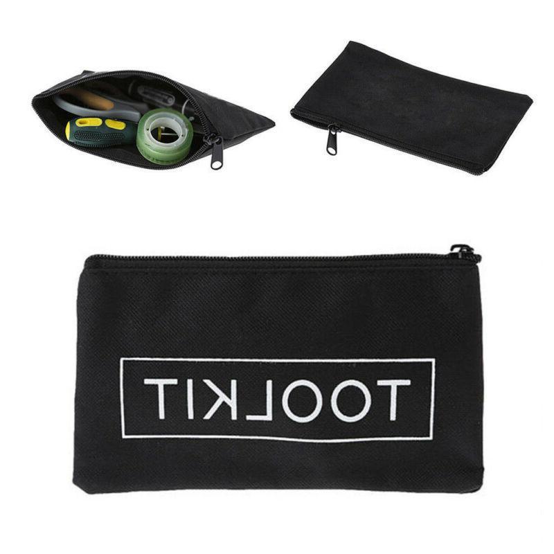 1Pc Waterproof 600D Oxford Cloth Tool Bag Zipper Storage Ins