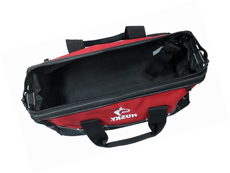 Husky 82003N11 Contractor/DIY Tool Bag with Shoulder