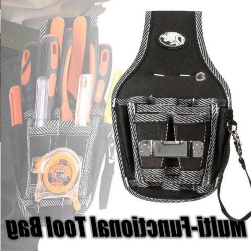 Electrical Waist 9 Pocket Tool Belt Pouch Bag Screwdriver Dr