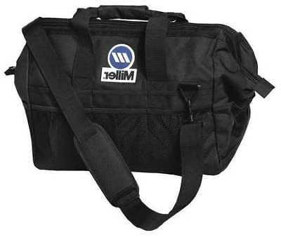 MILLER ELECTRIC 228028 Tool Bag, Polyester, 22 Pockets, Blac