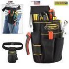 Black Electrician Tool Bag Waist Pocket Pouch Belt Holder Ma