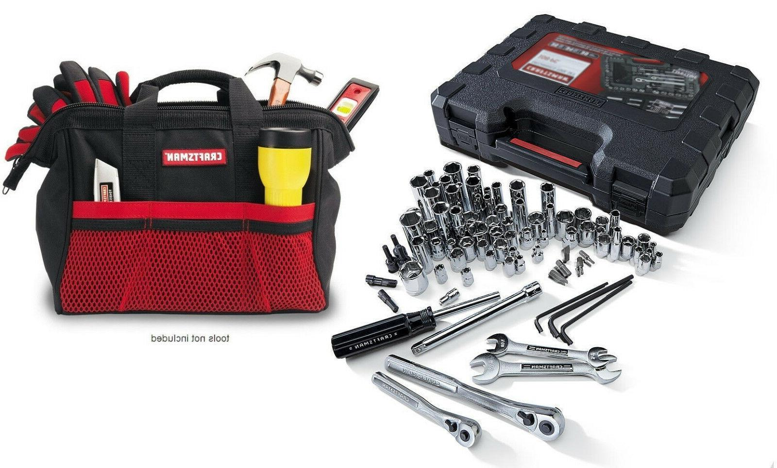 Craftsman 108 Piece Mechanic's Tool Set With Case & Free 13""