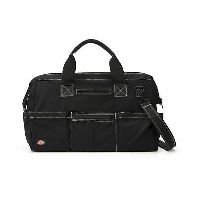 Dickies Work Gear 57086 Black 18-Inch 15-Pocket Soft-Sided T