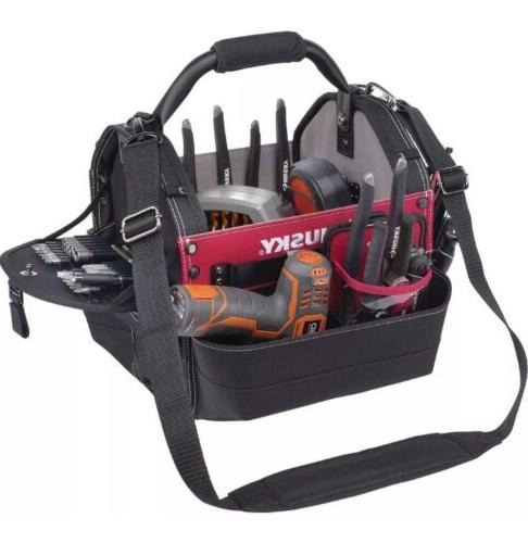 Husky 12-in. Tool Bag Tools Accessory Organizer Steel