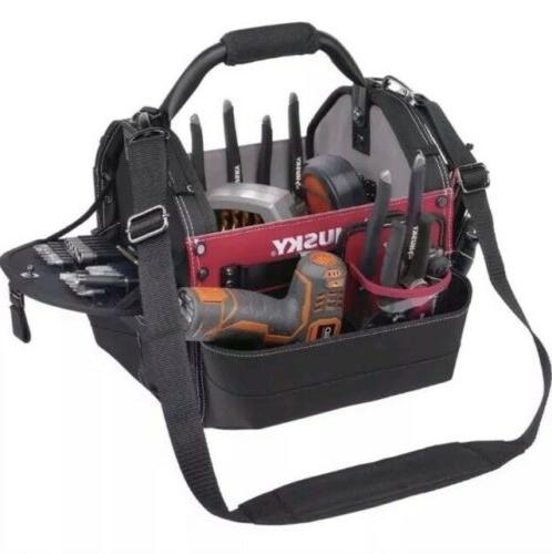 Husky 12-in. Tool Bar Bag Tools Accessory Storage Organizer