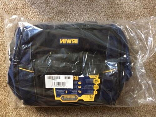 "Irwin 1996706 16"" Polyester Zippered Closed Tool Bag, New, F"