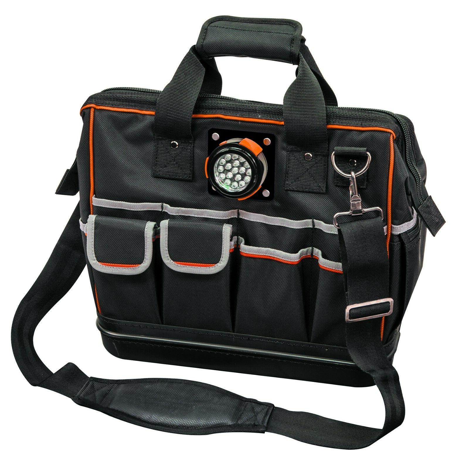 KLEIN TOOLS-55431 Tradesman Pro™ Lighted Tool Bag