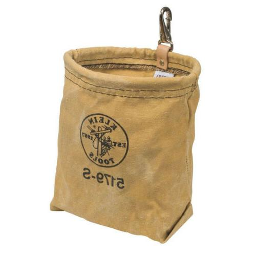 KLEIN TOOLS CANVAS POUCH SNAP On Belt Water Repellant Utilit