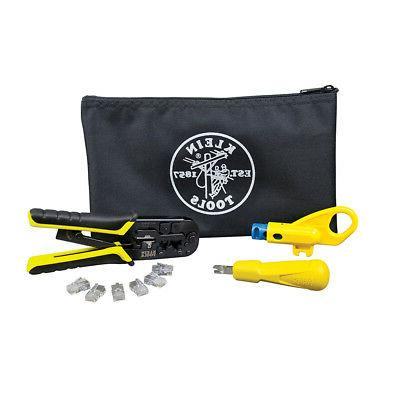 Klein Tools VDV026-212 Twisted Pair Installation Kit with Zi