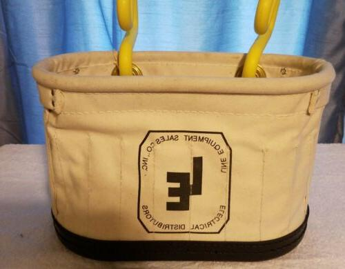LINE EQUIPMENT ELECTRICAL TOOL BAG WITH HOOKS