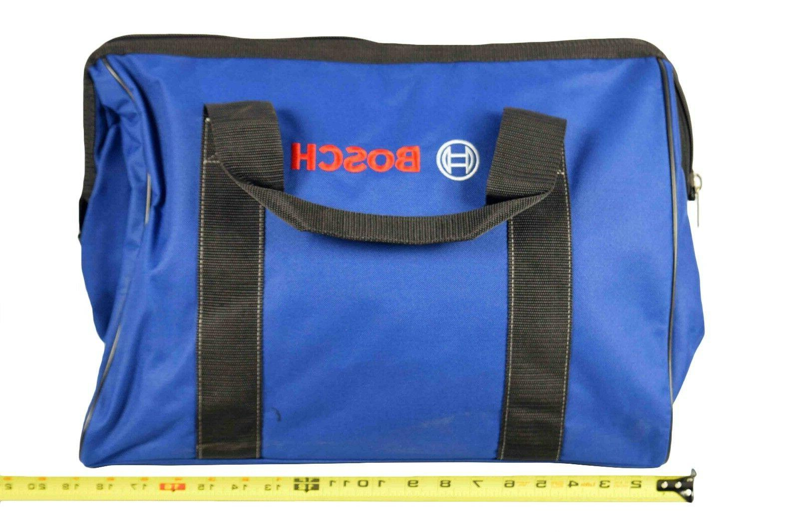 "Large Bosch Canvas 19"" Tool Bag carrying case 19 inch"