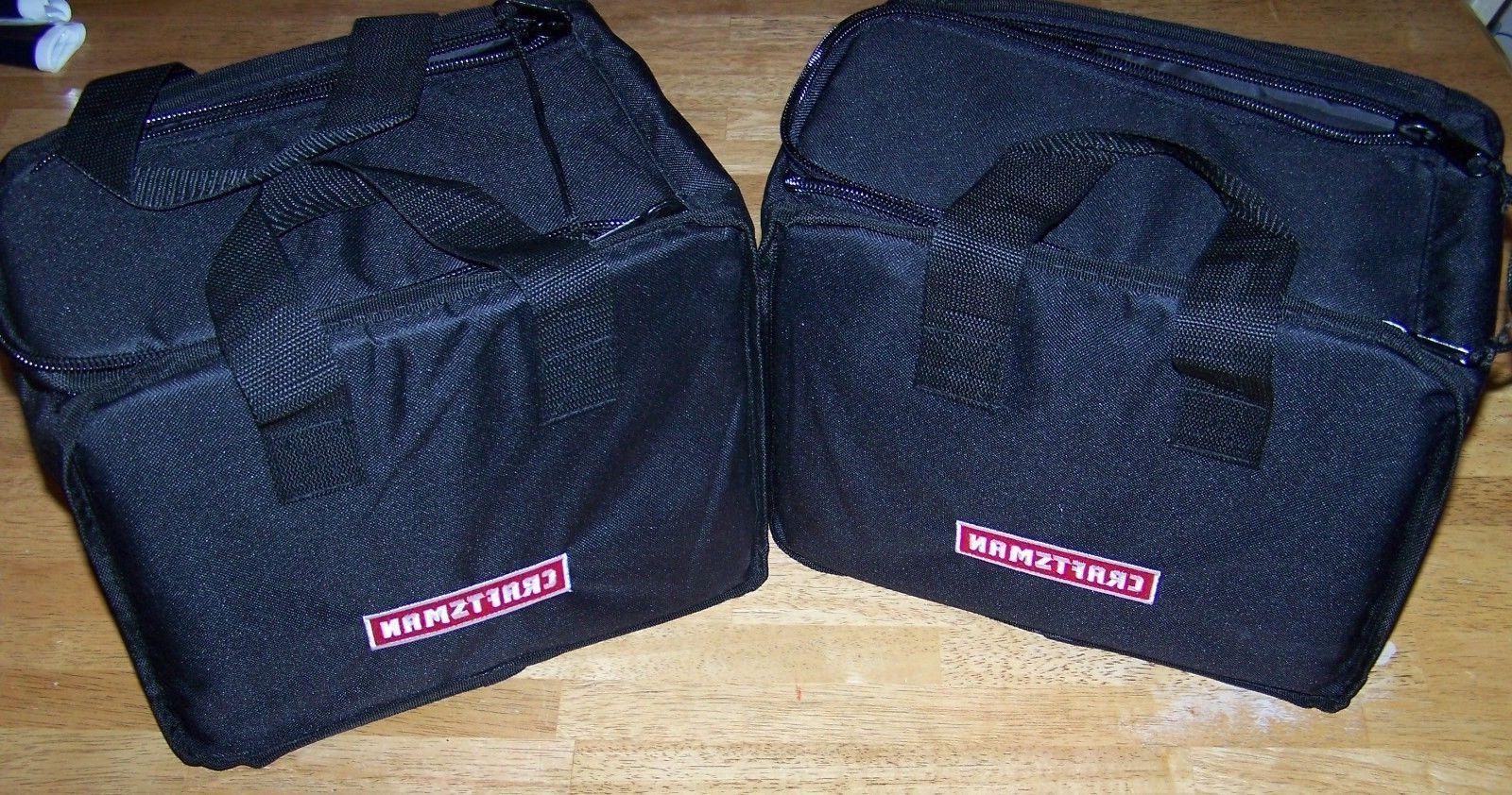Lot of 2 Craftsman 19.2v C3 Cordless Drill Driver Tool Bag 1