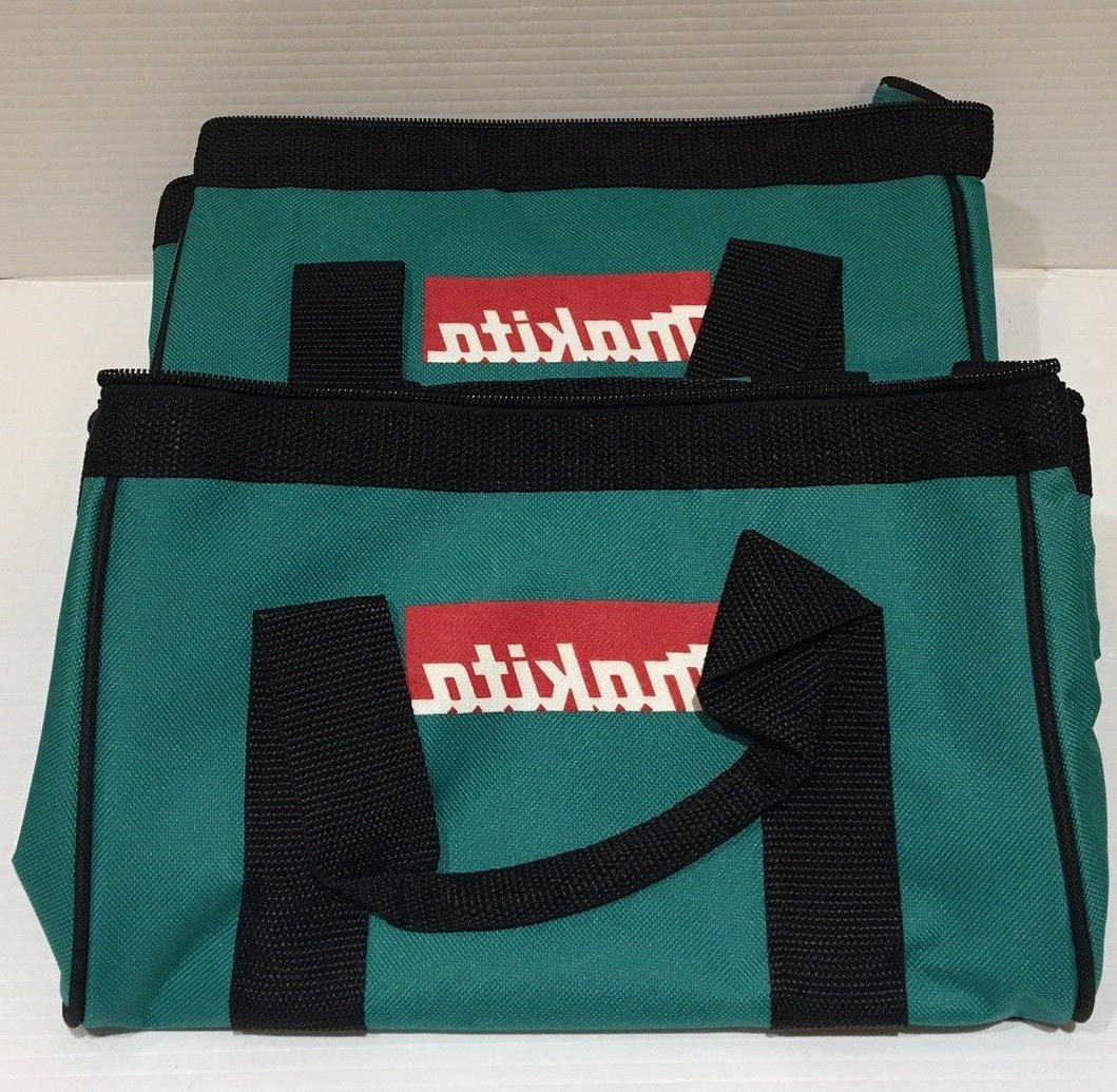 "Makita 11"" Small Contractor Tool Bag 2 Pack."