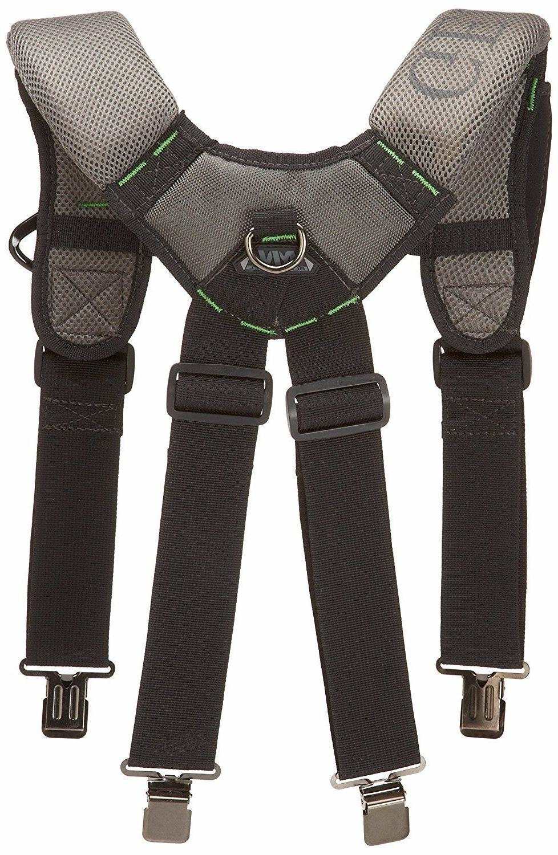McGuire Nicholas Gel Foam Padded Suspender Work Tool Belt BL