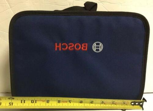"""NEW BOSCH 12"""" X 9"""" X 3"""" Tool Bag Tote Case With Inside Pocke"""