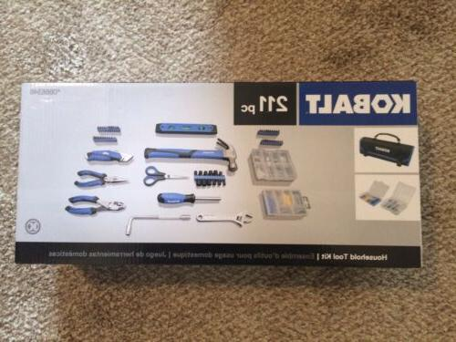 *NEW* Kobalt 211-Piece Household Tool Set with Soft Case