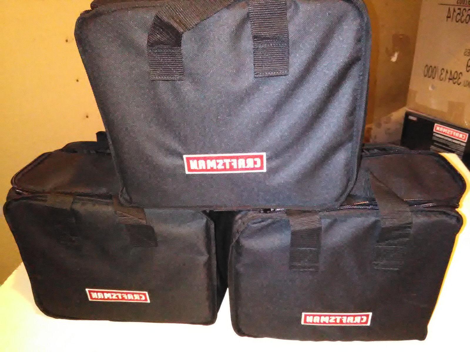 *NEW* LOT OF 3 Craftsman 19.2v C3 Cordless Drill Tool Bag 12