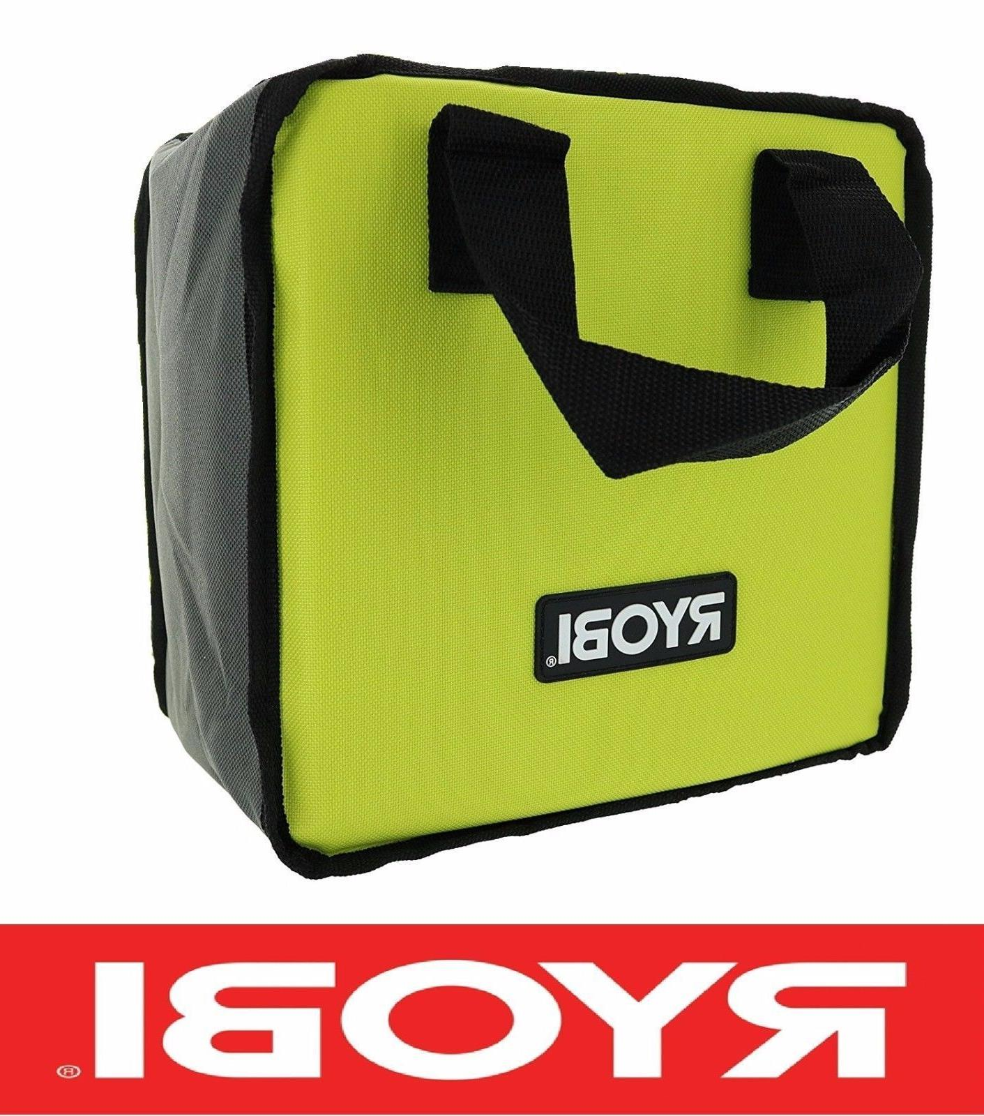 NEW RYOBI TOOL BAG  CASE FOR DRILL IMPACT & BATTERY 18 V 18
