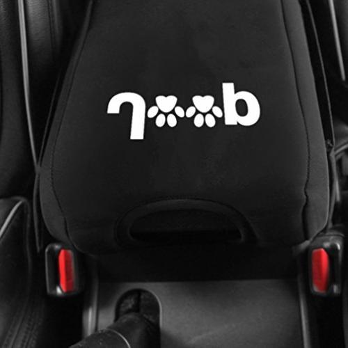 Neoprene Console Pad with Bag For Wrangler JK Sahara Sport 2012 2014 2015 2016 2017 with logo