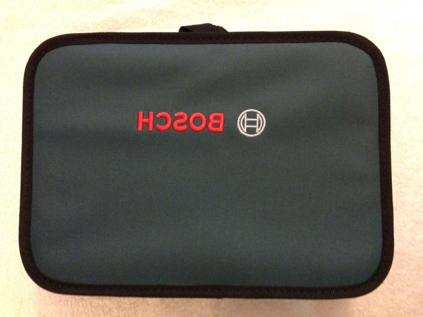 """New Bosch 12"""" x 9"""" Contractors Tool Bag with"""