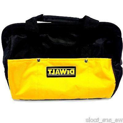 """New Dewalt 12"""" Tool Bag/Case For Drill, Saw, Grinder, Batter"""