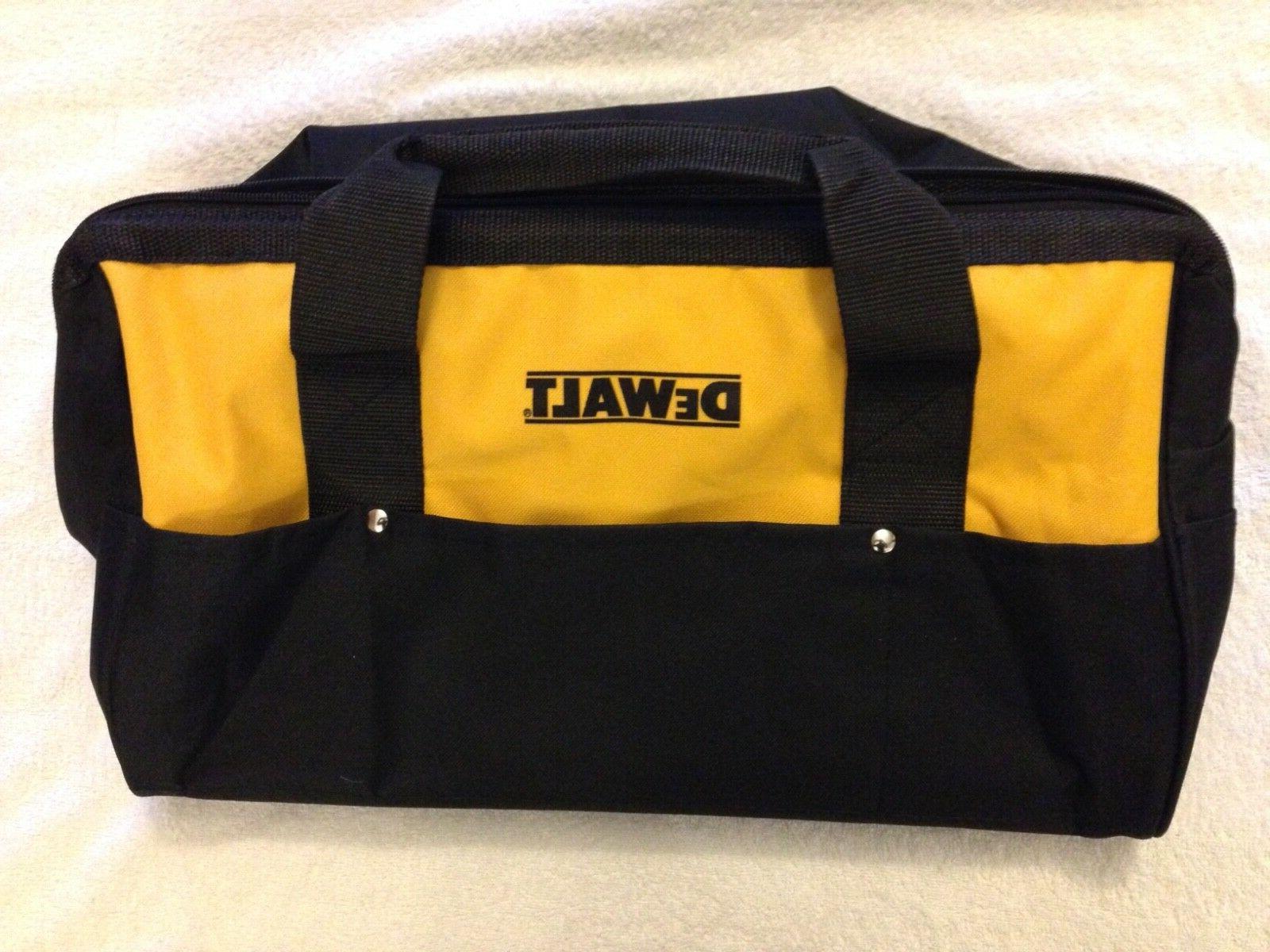 New Dewalt DCK019 Bag Duty Nylon x With 10 pockets