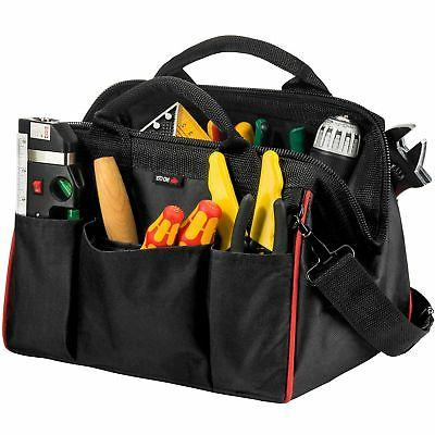 NoCry Tough As Nails Tool Bag, 12 Inches, Heavy-Duty 600D Ca