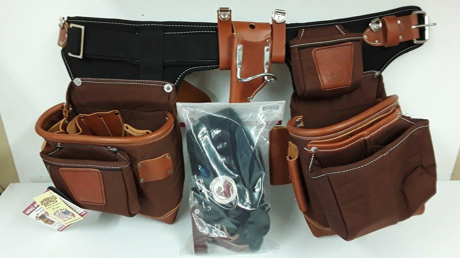 Occidental Leather 9855 Adjust-to-Fit Fat Lip Tool Bag Set -
