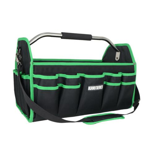 """16"""" All-Purpose Tool Bags Organizer Tote Electrician Pocket"""