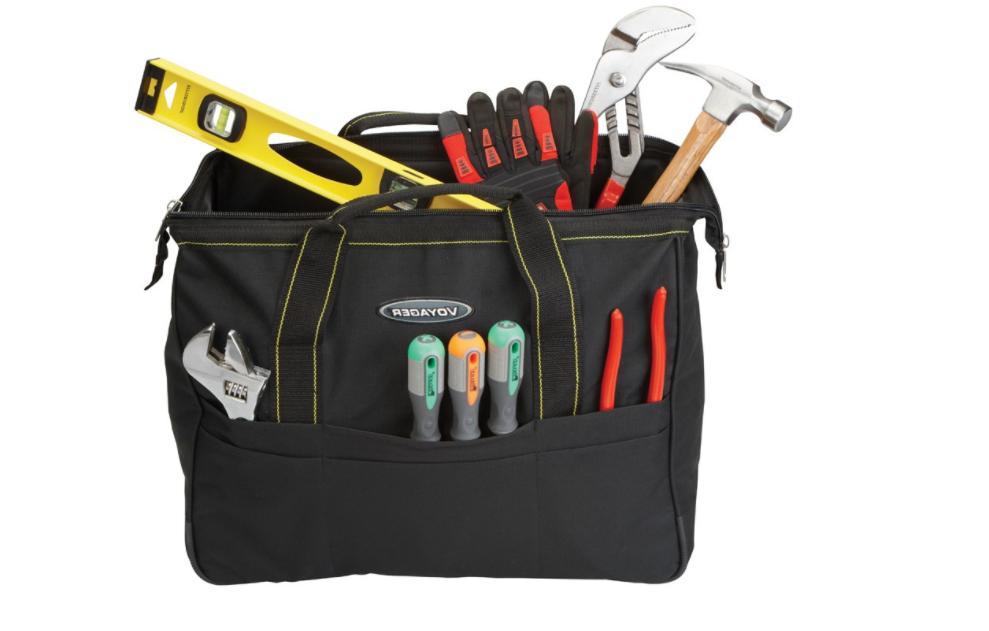 Rolling Tool Bag Transport Tools Accessories Gear Nylon Rugg