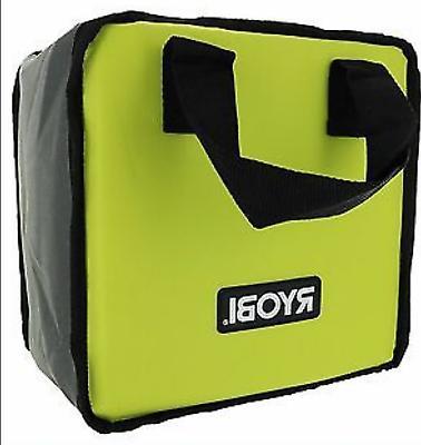 "Ryobi 901605012 Green Tool Bag 8""x 9"" x 13"" Fits Blower P755"