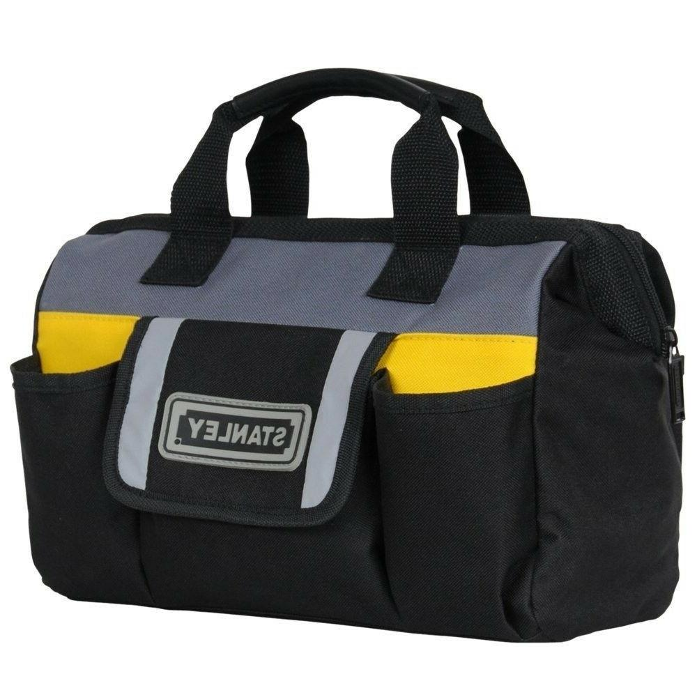 Tool Bag Canvas Pouch Stanley Soft Sided Pockets Portable To