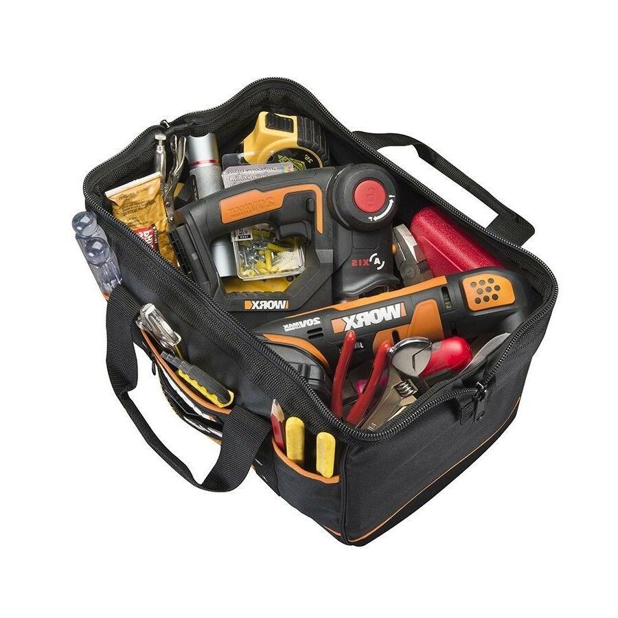 WA0076 WORX Zippered Bag with Exterior