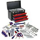 WORKPRO W009044A Mechanics Tool Set with 3-Drawer Heavy Duty