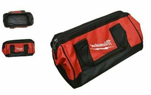 """Milwaukee Bag 13"""" x 6"""" x 8"""" inch Heavy Duty Canvas Tool Bag"""