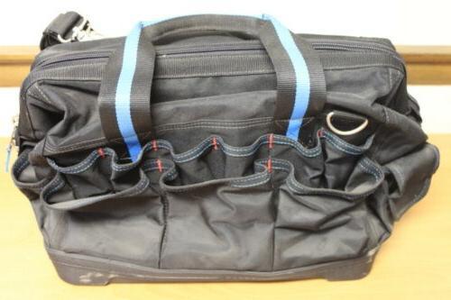 """Channellock Black/Blue 16"""" Bag Case"""