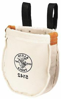 Klein Tools Canvas Utility Bag Interior Pocket Belts Pouches
