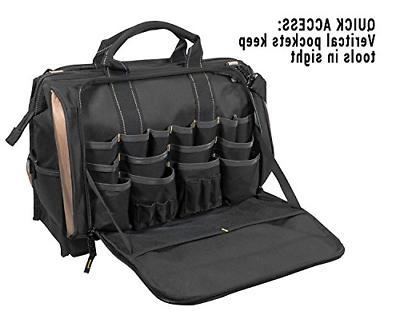 CLC Custom LeatherCraft Multi-Compartment 50 Pocket Bag