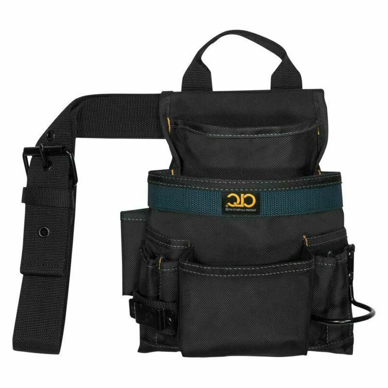Clc Custom Leathercraft 2823 Ballistic Nail And Tool Bag, 10