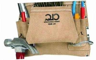 clc custom leathercraft i823x suede carpenter s