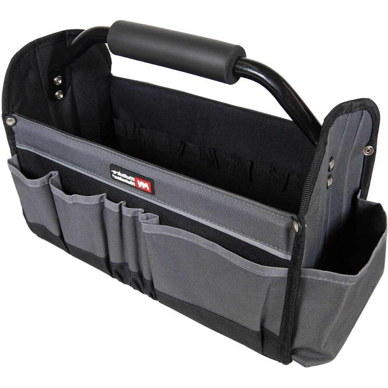 contractors tool bag collapsible tote 15in 14