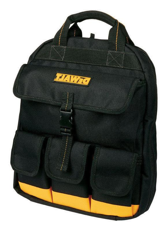 NEW DG5503 DEWALT Backpack Tool Bag 25 inside pockets 4 outs