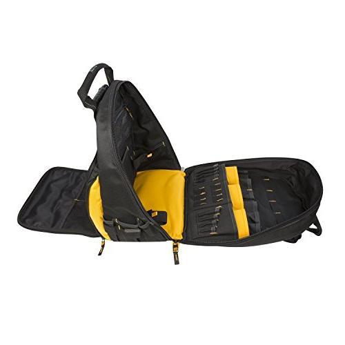 DEWALT DGL523 Lighted Tool Backpack 57-Pockets