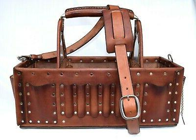 Electrician Tool Bag X20 Carrier Premium Leather