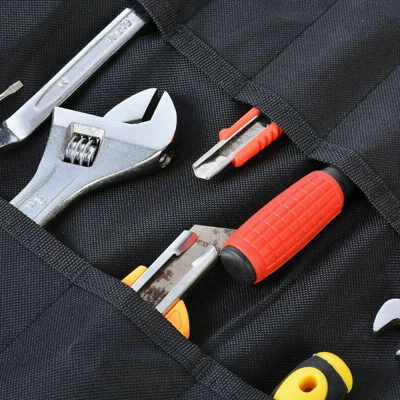 Electrician Roll Up Bags Canvas Chisel