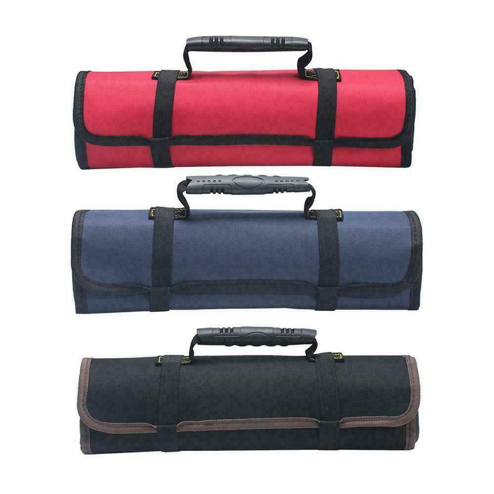 electrician tool pocket bag roll up storage